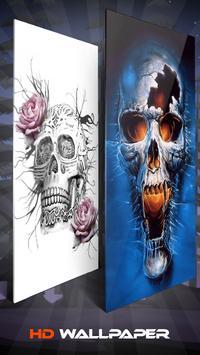 Devil Skeleton Skull Wallpaper And Background screenshot 3