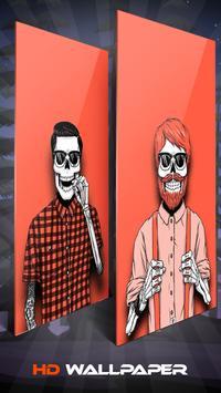 Devil Skeleton Skull Wallpaper And Background screenshot 4