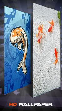 Koi Fish Wallpaper And Background screenshot 1