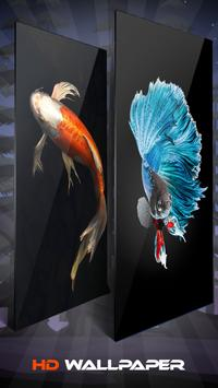 Koi Fish Wallpaper And Background screenshot 2
