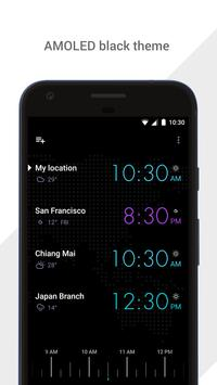 GLOBE: World clock and time zone converter imagem de tela 4