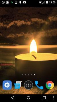 candle live wallpaper screenshot 1