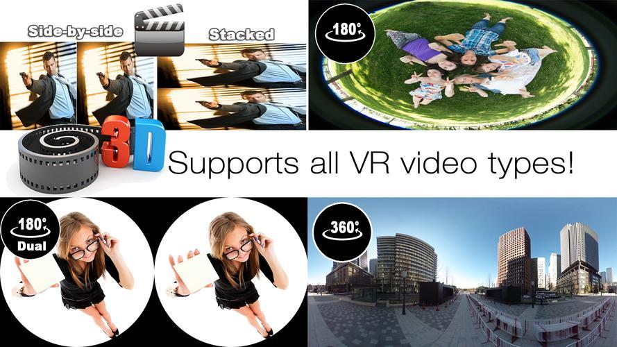AAA VR Cinema Cardboard 3D SBS APK Download - Free Video ...