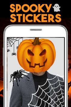 Cute Halloween Stickers poster