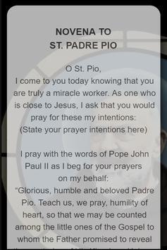 St. Pio Novena Prayers screenshot 2