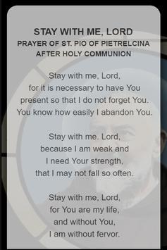St. Pio Novena Prayers screenshot 3