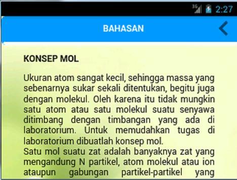 Penghitung Molar apk screenshot