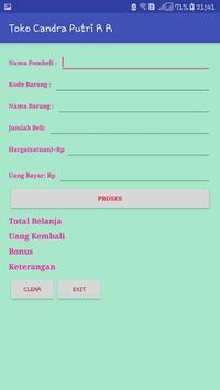Aplikasi Penjualan di Toko screenshot 1