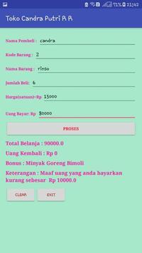 Aplikasi Penjualan di Toko screenshot 2