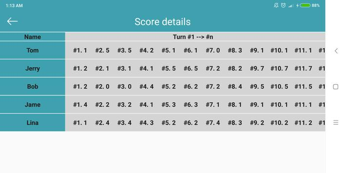 Score Keeper screenshot 3