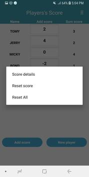 Score Keeper screenshot 2
