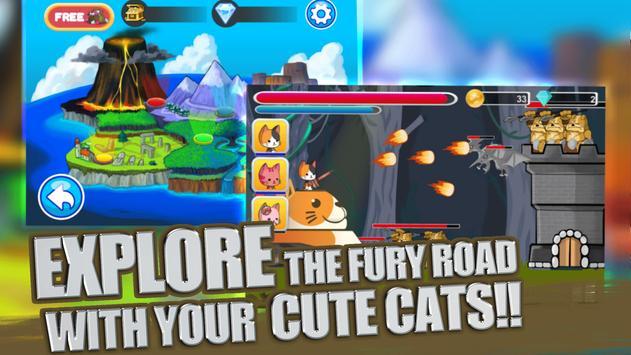 Super Cat Hero Galaxy Shooting apk screenshot