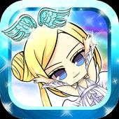 Cute Angels Kid Jump & Running icon