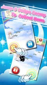 Cute Angels Kid Jump & Running screenshot 1