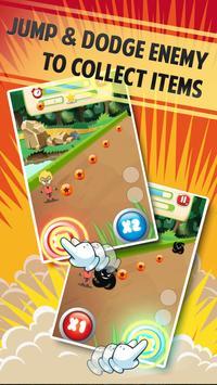 Jump & Running with Monkey Boy screenshot 1