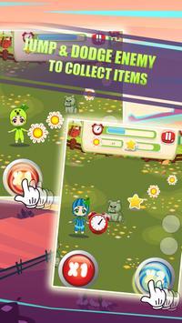 Jumping Zombies Farm & Garden apk screenshot