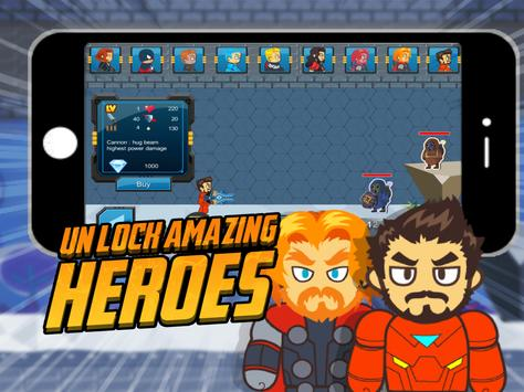 Super Hero Team Galaxy Shooter apk screenshot