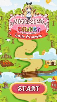 Princess Balls Matching Color poster