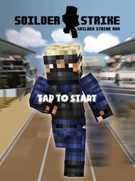 3D Block Running Shooter Zero apk screenshot