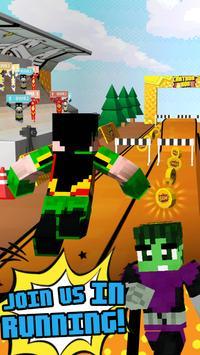 3D Comics Block Skins Running apk screenshot