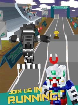 3D Block Running Mecha Robot apk screenshot