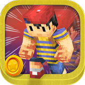 3D Young Boy Blocks Skins Run icon