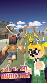 3D Young Boy Blocks Skins Run apk screenshot