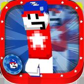 3D Runner Star Blocks Running icon