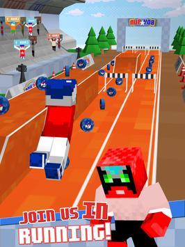 3D Runner Star Blocks Running apk screenshot