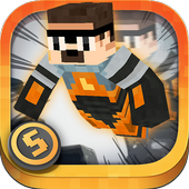 3D Life Skins Running Shooter icon