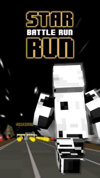 3D Space Run Star Blocks Skins poster