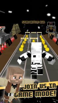 3D Space Run Star Blocks Skins screenshot 1