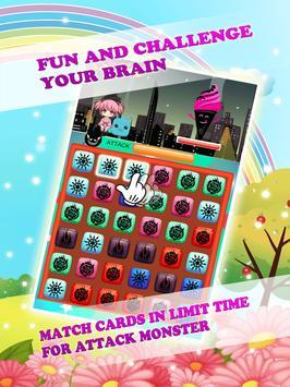 Magical Monster Girls Matches apk screenshot