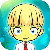 Matching Yellow Sponge Cartoon icon