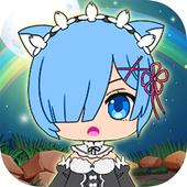 Girl Life World Monster Matche icon