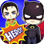 Superhero Monster Match Color icon