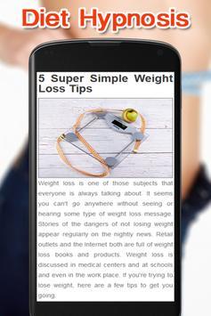 Diet Hypnosis Tips screenshot 1
