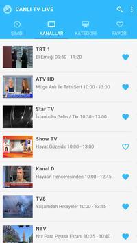 Canlı TV Live apk screenshot
