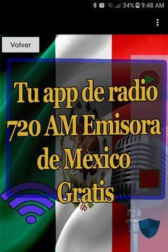 El Fonografo 720 AM Radio Mexico Online screenshot 1