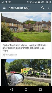 Canterbury free news apk screenshot
