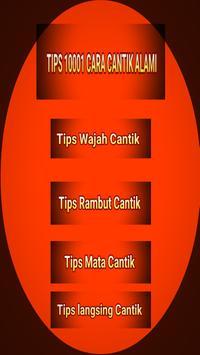 Tips Cantik 10001 Macam poster