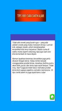 Tips Cantik 10001 Macam screenshot 1