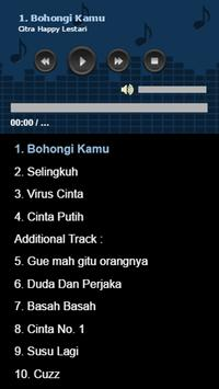 Lagu Citra Happy Lestari screenshot 1