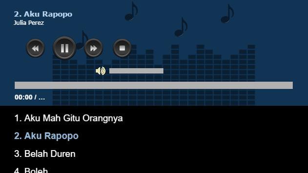 Lagu Dangdut Julia Perez apk screenshot