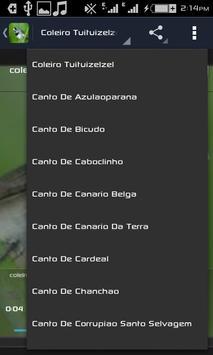 Cantos De Coleiro apk screenshot