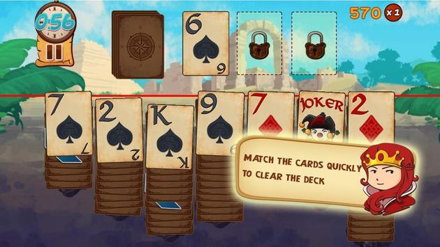 Solitaire: Treasure Hunter screenshot 3