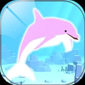 まったりイルカ育成ゲーム - 癒されるイルカのゲーム(無料) icon