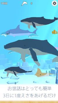 クジラ育成ゲーム-完全無料まったり癒しの鯨を育てる放置ゲーム screenshot 2