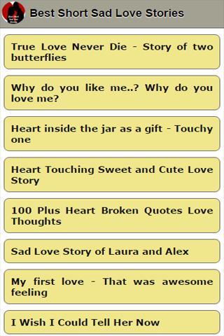 Best Short Sad Love Stories for Android - APK Download