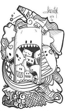 Ide Doodle Art poster